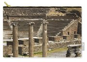 Asklepion Theatre And Columns Carry-all Pouch