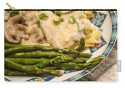 Asparagus And Stroganoff Carry-all Pouch