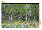 Aspen And Balsam Root Carry-all Pouch