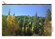 Aspen And Cottonwood In Concert Carry-all Pouch by Ron Cline
