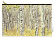 Aspen Forest 2 - Photo Painting Carry-all Pouch