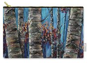 Aspen Forest In The Rocky Mountain Carry-all Pouch