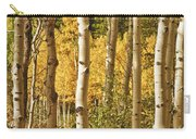 Aspen Gold Carry-all Pouch by James BO  Insogna