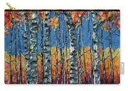 Aspen Grove By Olena Art Carry-all Pouch