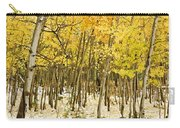Aspen In Snow Carry-all Pouch