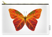 Aspen Leaf Butterfly 2 Carry-all Pouch