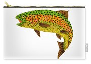 Aspen Leaf Rainbow Trout 1 Carry-all Pouch