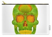 Aspen Leaf Skull 10 Carry-all Pouch