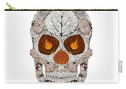 Aspen Leaf Skull 11 Carry-all Pouch