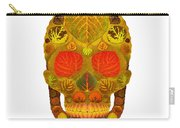 Aspen Leaf Skull 12 Carry-all Pouch