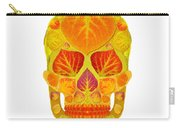 Aspen Leaf Skull 13 Carry-all Pouch