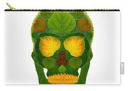 Aspen Leaf Skull 9 Carry-all Pouch