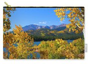 Aspen On Pikes Peak And Crystal Reservoir Carry-all Pouch