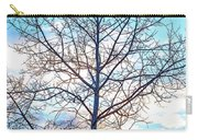 Aspen Tree At Sunset Carry-all Pouch