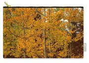 Aspen Trees With Autumn Leaves  Carry-all Pouch