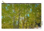 Aspens At Pine Creek Basin Carry-all Pouch