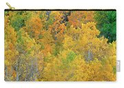 Aspens In Fall Eastern Sierras California Carry-all Pouch