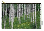 Aspens In Spring Carry-all Pouch