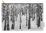Aspens In Winter Carry-all Pouch