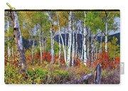 Aspens Meet Autumn Carry-all Pouch