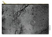 Asphalt-water-tree Abstract Refection 03 Carry-all Pouch