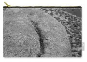 Ass Crack New Mexico In Black And White Carry-all Pouch