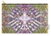 Assent From The Womb In The Flower Tree Of Life Carry-all Pouch
