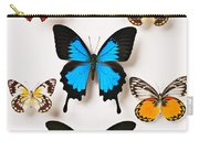 Assorted Butterflies Carry-all Pouch
