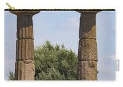Assos Temple Of Athena Columns Carry-all Pouch