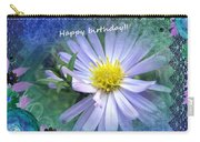 Aster ,  Greeting Card Carry-all Pouch