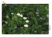Aster And Daisies Carry-all Pouch