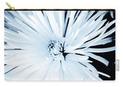 Aster In Black And White Carry-all Pouch