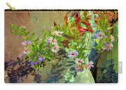 Aster Wildflowers Carry-all Pouch
