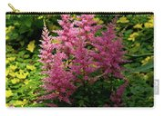Astillbe In Light And Shadow Carry-all Pouch