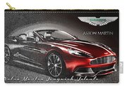 Aston Martin Vanquish Volante  Carry-all Pouch