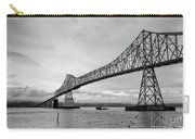 Astoria Bridge At Dusk Carry-all Pouch
