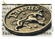 Astrological Definition In Taurus Carry-all Pouch