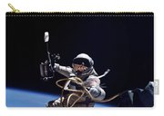Astronaut Floats In Space Carry-all Pouch
