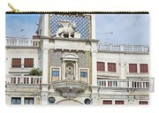 Astronomical Clock At San Marco Square Carry-all Pouch