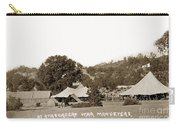 At Atascadero War Manuevers Circa 1915 Carry-all Pouch