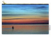 At Dawn In A Canoe  Carry-all Pouch