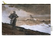 At High Sea Carry-all Pouch by Winslow Homer