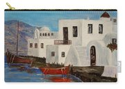 At Home In Greece Carry-all Pouch