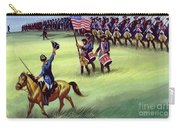 At Saratoga The Colonists Won Victory Carry-all Pouch