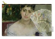 At The Ball Carry-all Pouch by Berthe Morisot