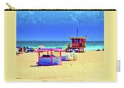 At The Beach Carry-all Pouch