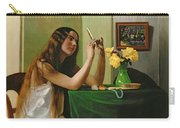 At The Dressing Table Carry-all Pouch by Felix Edouard Vallotton
