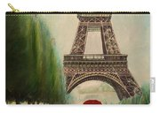 At The Eiffel Tower Carry-all Pouch