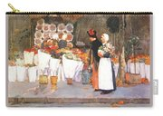 at the florist 1889 Childe Frederick Hassam Carry-all Pouch