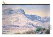 At The Foot Of Mountains Carry-all Pouch